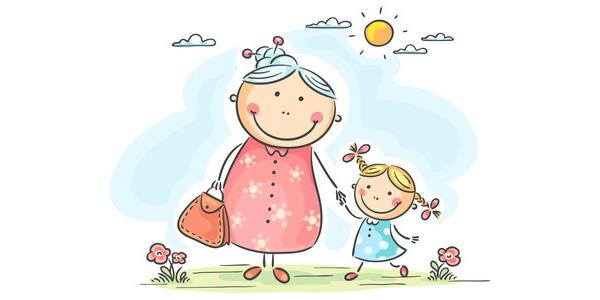 Бабусі та дідусі доглядають онуків