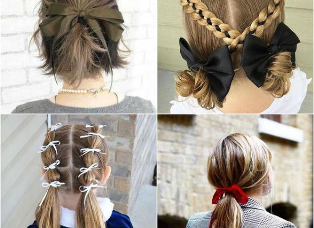 Модні зачіски для дівчаток на 1 вересня