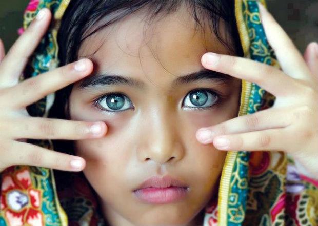 Який колір очей буде в дитини