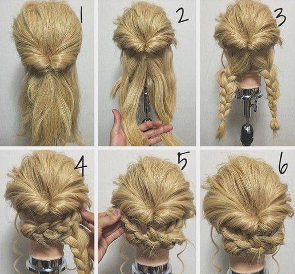 Зачіски з плетінням для дівчат