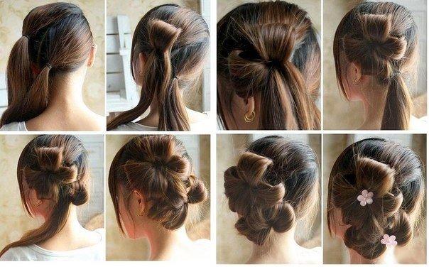 Незвичайні зачіски для дівчаток на 1 вересня