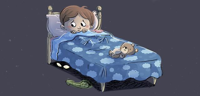 Дитина кричить уві сні – чому?