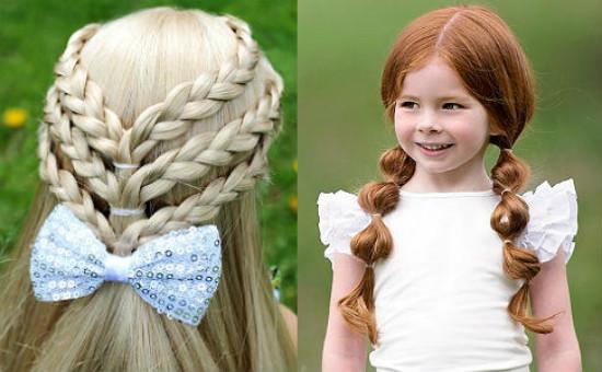 Зачіски на 1 вересня плетіння