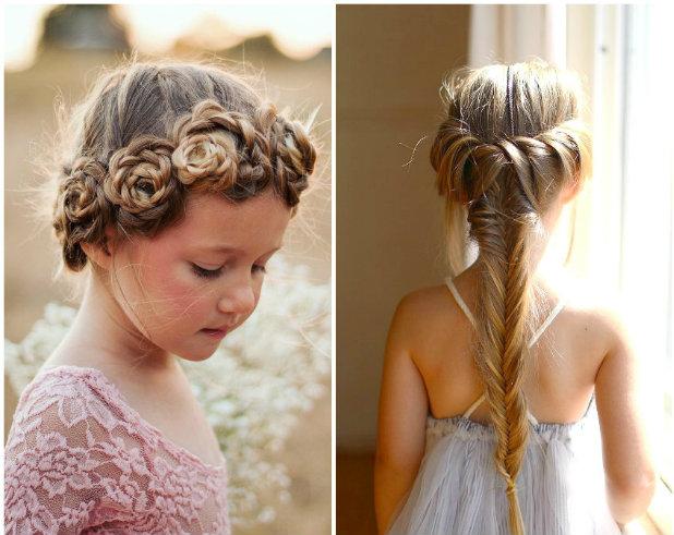 Плетіння зачіска для дівчаток