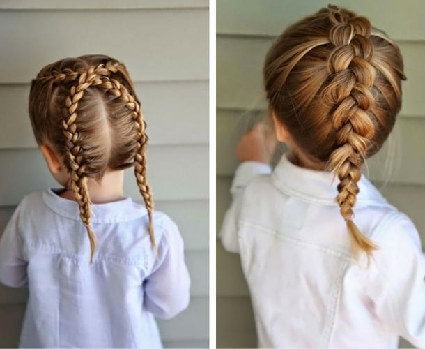 Незвичайна зачіска плетіння на короткі коси