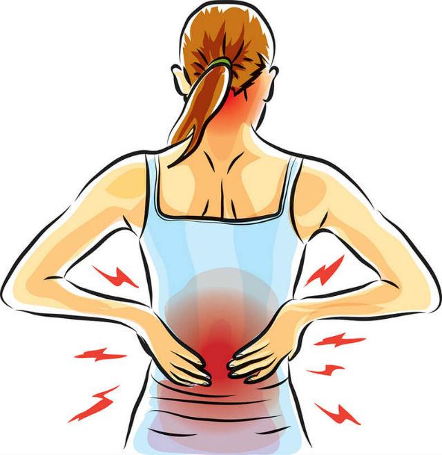 Біль у спині під час вагітності: 7 тиждень