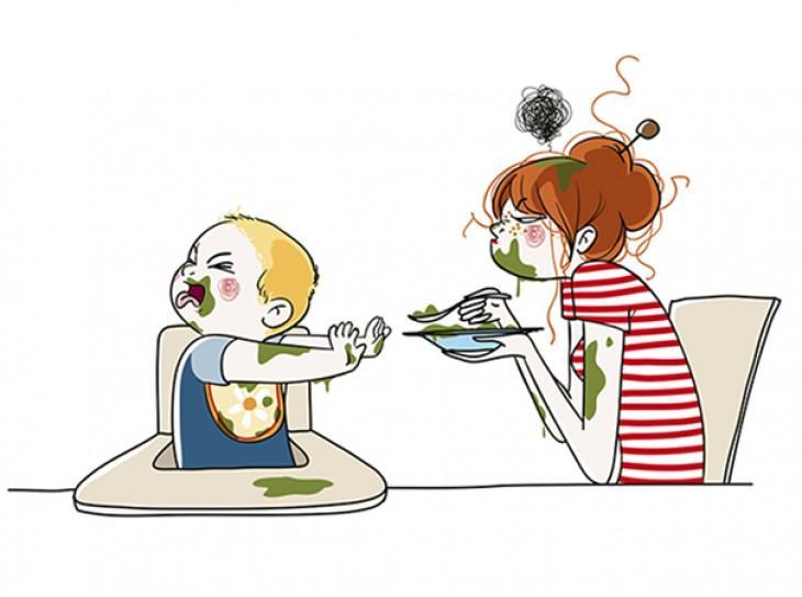 дитина відмовляється їсти, плюється їжею